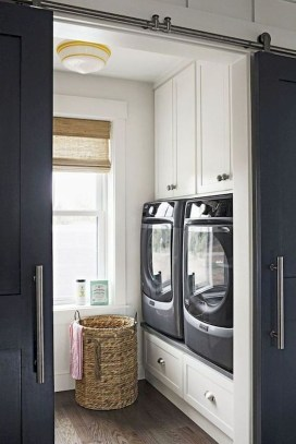 Trend small laundry room design ideas that you can try 44