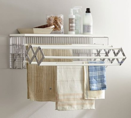 Drying rack design ideas that you can try 06