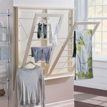 Drying rack design ideas that you can try 25