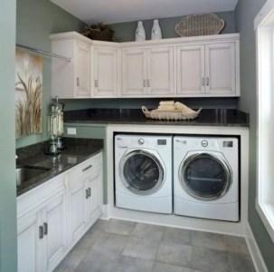Inspiring small laundry room design ideas in spring 2019 22