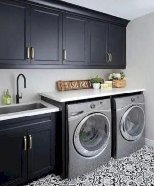Inspiring small laundry room design ideas in spring 2019 45