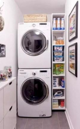 Inspiring small laundry room design ideas in spring 2019 50
