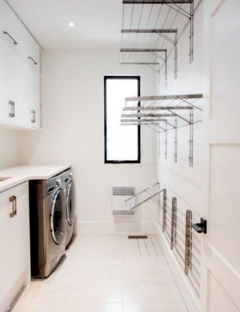 Laundry design ideas with drying room that you must try 02