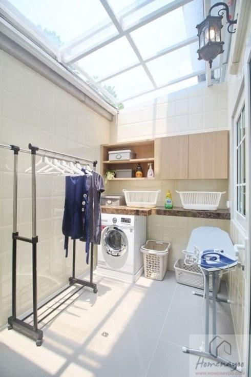 Laundry design ideas with drying room that you must try 03