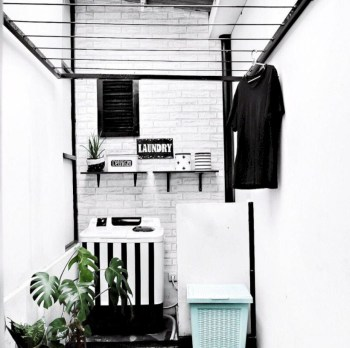 Laundry design ideas with drying room that you must try 28