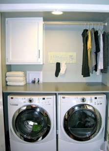 Laundry design ideas with drying room that you must try 32