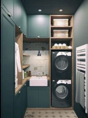 Laundry design ideas with drying room that you must try 50