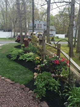 Best front yard design ideas for summer in your home 07