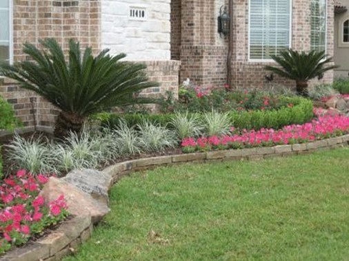 Best front yard design ideas for summer in your home 14