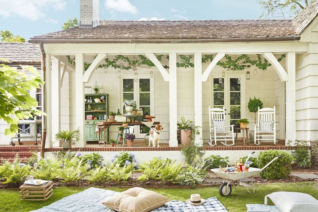 Best front yard design ideas for summer in your home 46