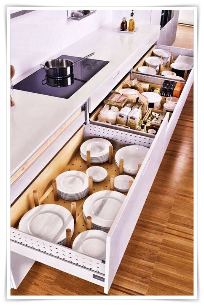 How to organize kitchen in your apartment that inspiring 08