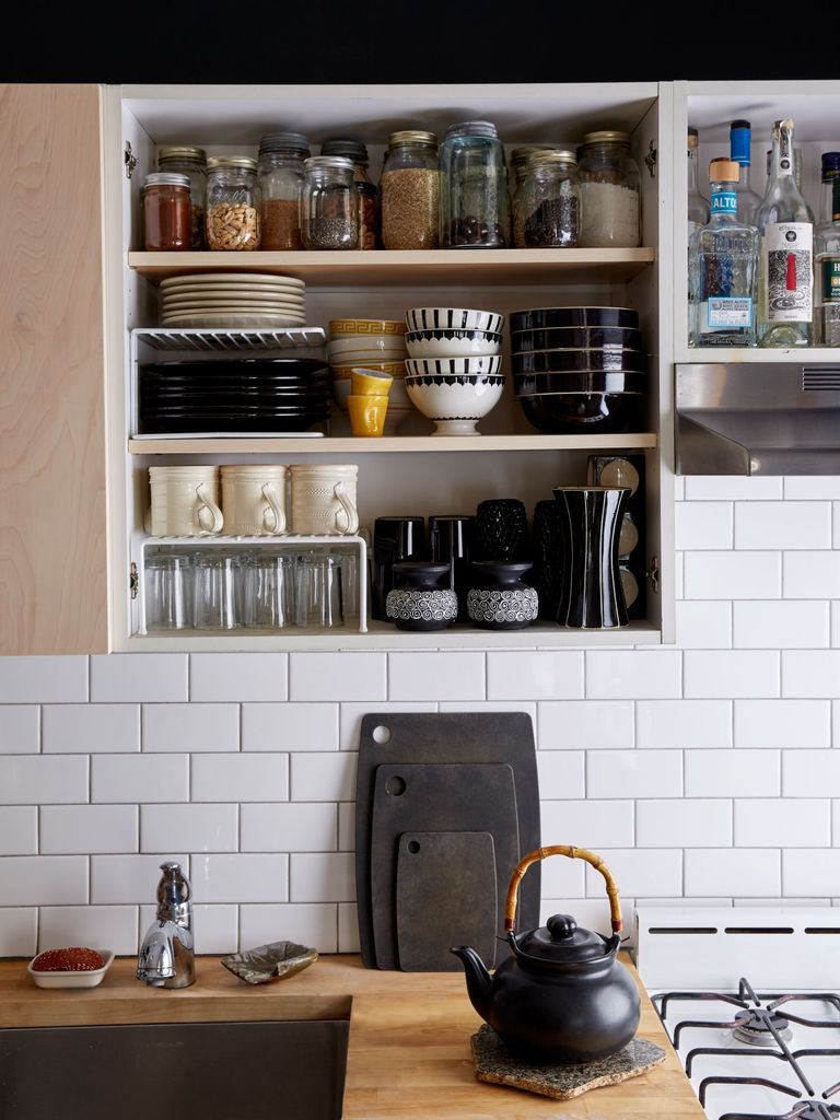 How to organize kitchen in your apartment that inspiring 12