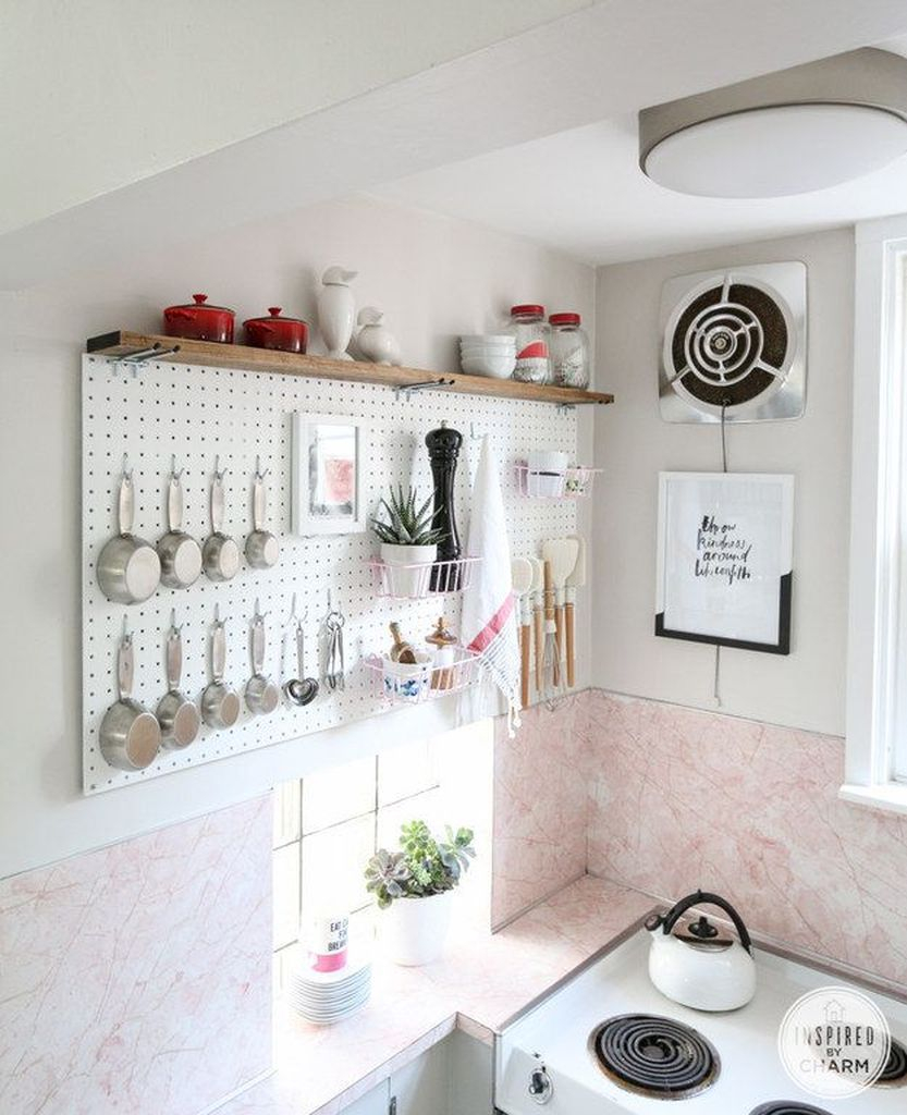 How to organize kitchen in your apartment that inspiring 15