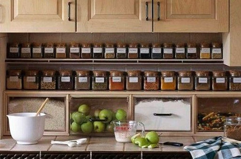 53 How To Organize Kitchen In Your Apartment That Inspiring