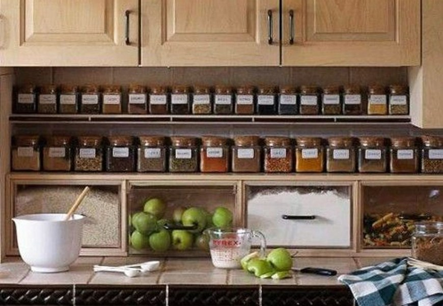 How to organize kitchen in your apartment that inspiring 35