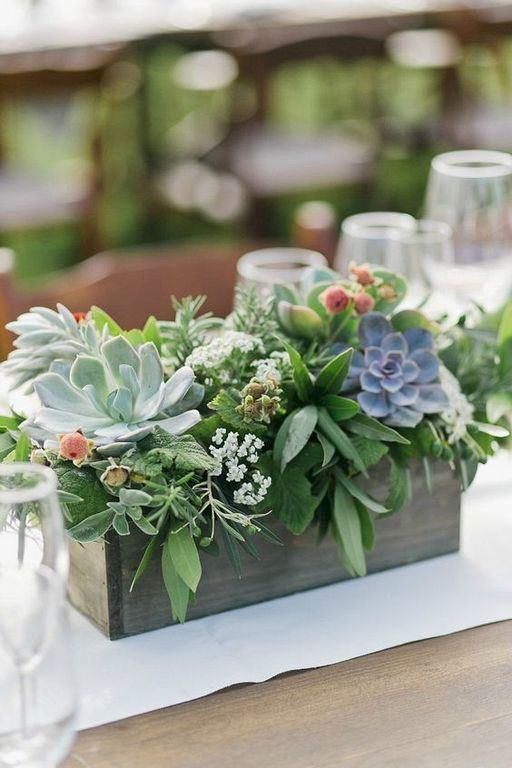 Inspiring wooden box ideas for flower that you can try 47