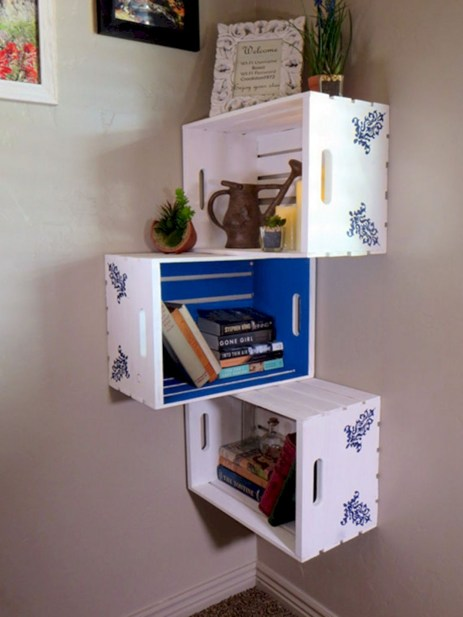 Versatile boxes decoration ideas that you can use in your home 12