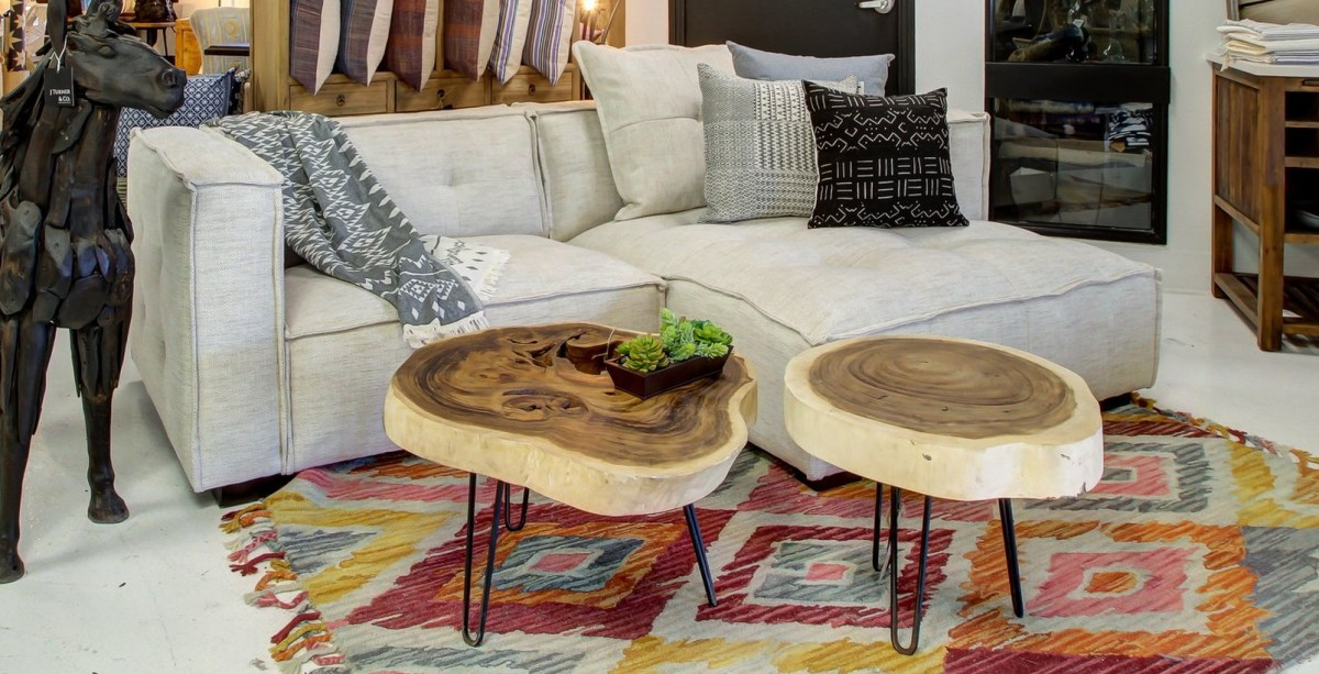 A stunning teak wood furniture coffee table beam eye catching style to your home