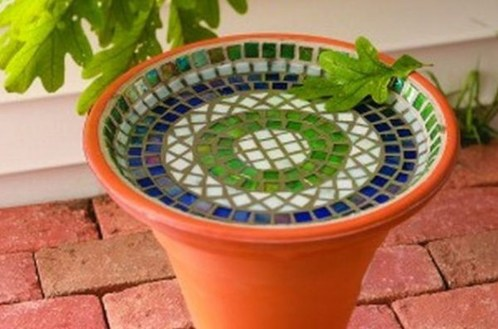 Adorable diy mosaic craft ideas to beautify your home decoration 04