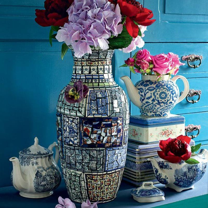 Adorable diy mosaic craft ideas to beautify your home decoration 47