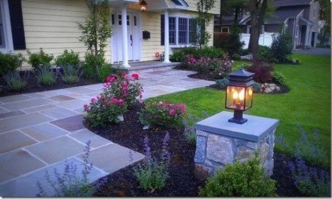 Adorable front yard lighting ideas for your summer night vibe 06