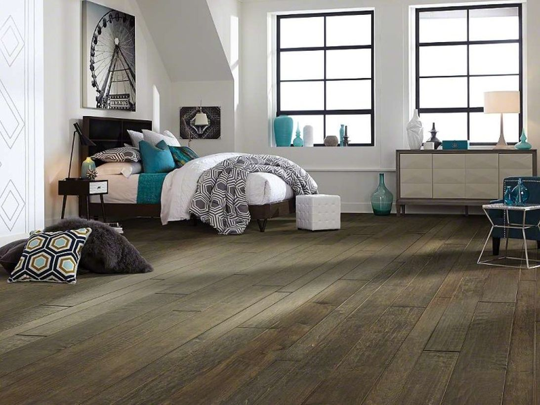 An awesome farmhouse flooring ideas for summer with maple fairbanks come in three different board sizes mixed to achieve a simple and elegant look