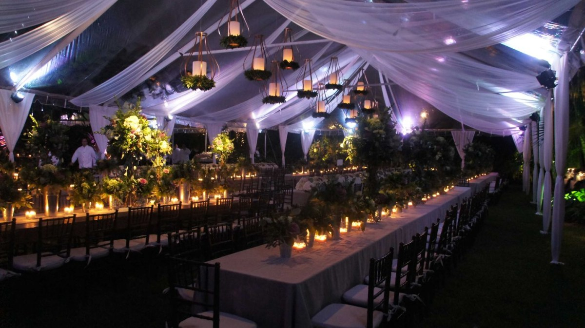 Best garden lighting ideas with candlelight to make outdoor tent lighting