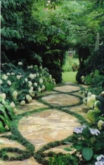 On budget garden walk path ideas for an easy movement around the garden 05