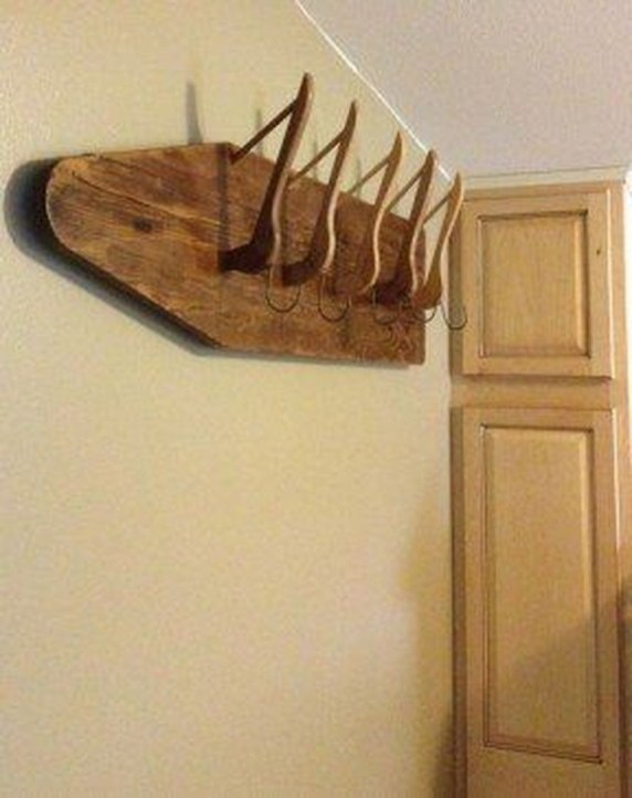 Wooden rack ideas to be applied into any home styles for a warmer room impression 22