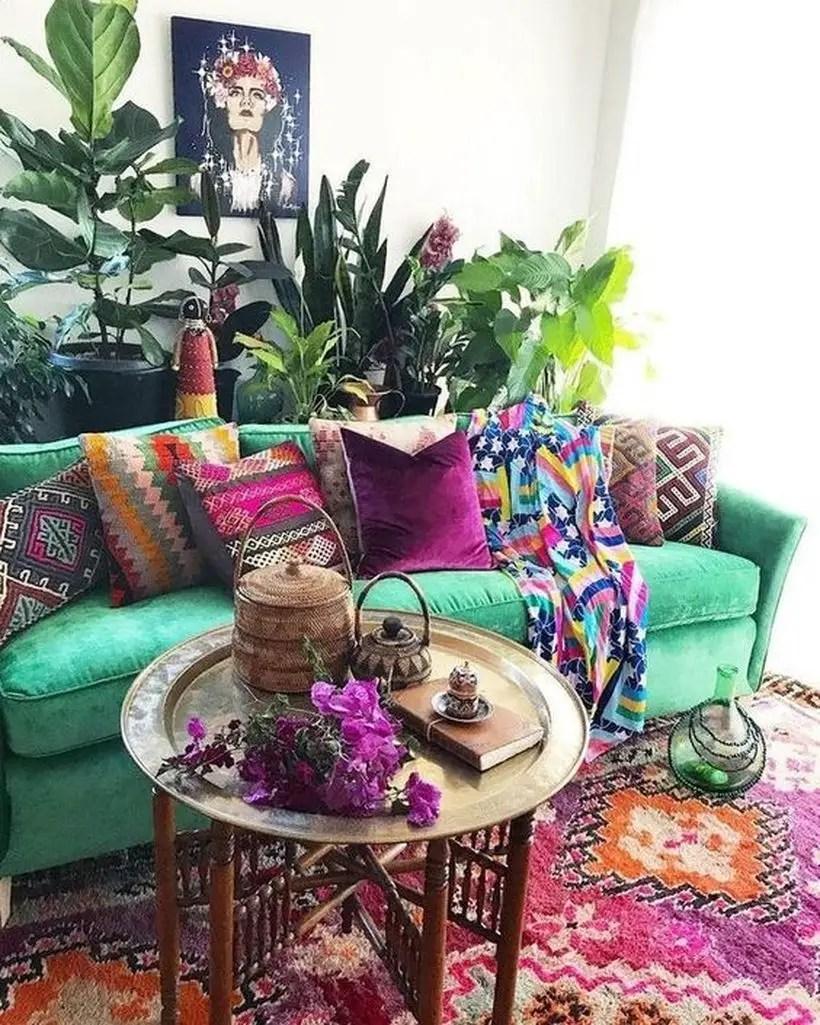 Light green sofa