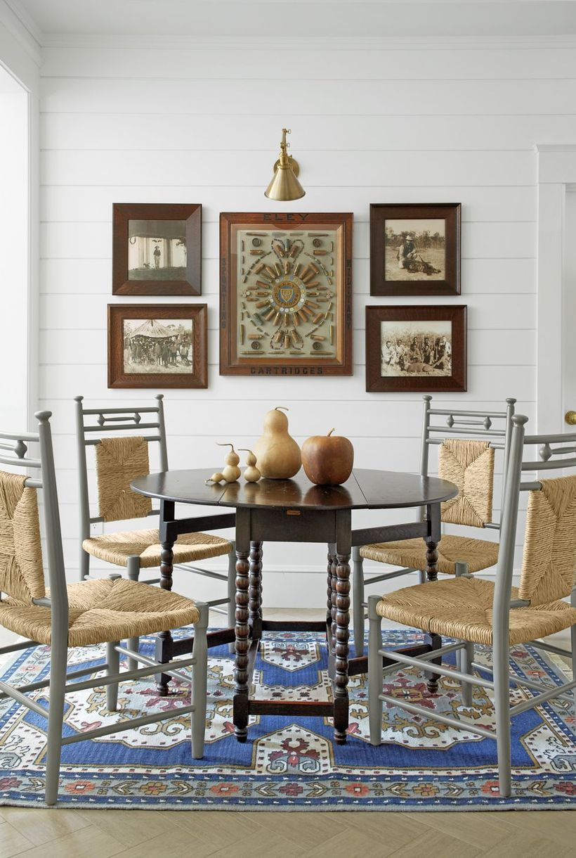 A fabulous indoor redecoration from summer to fall with tablescape, gallery walls and placing various sizes of vegetables falling on the fabulous dining room table.