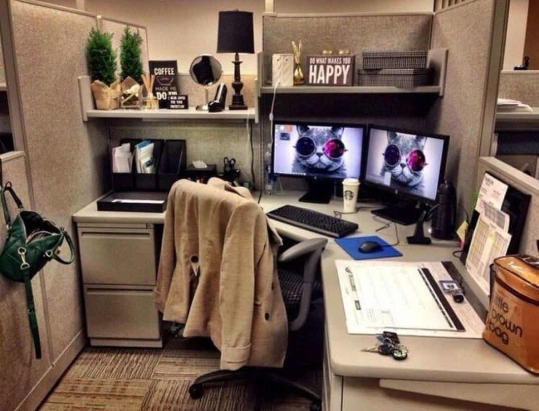 36 Affordable Home Office Decoration Ideas to Give You ...