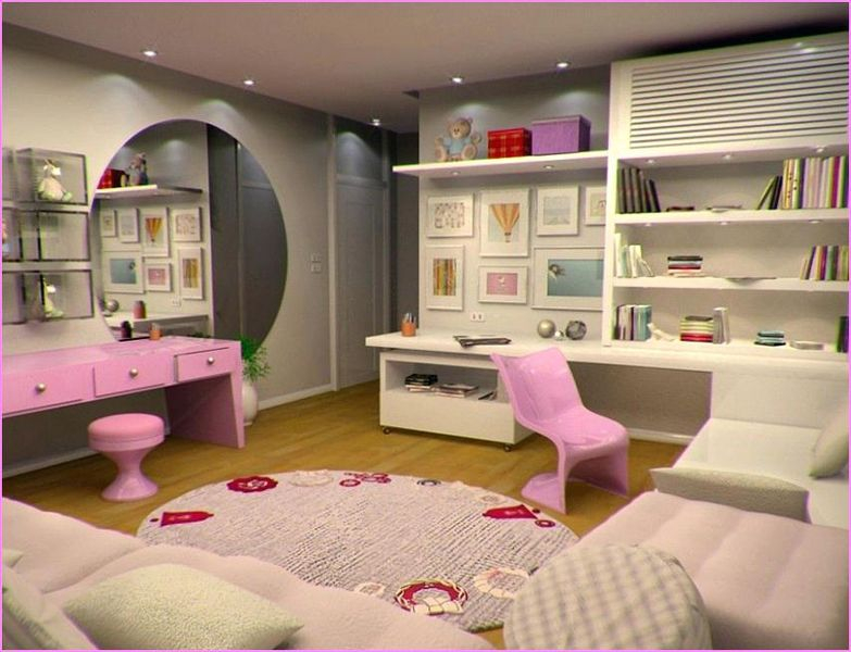 An amazing bedroom decoration ideas with walls gallery on the wall to beautify teen girl bedroom