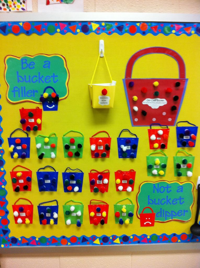 Cute board display with bag design