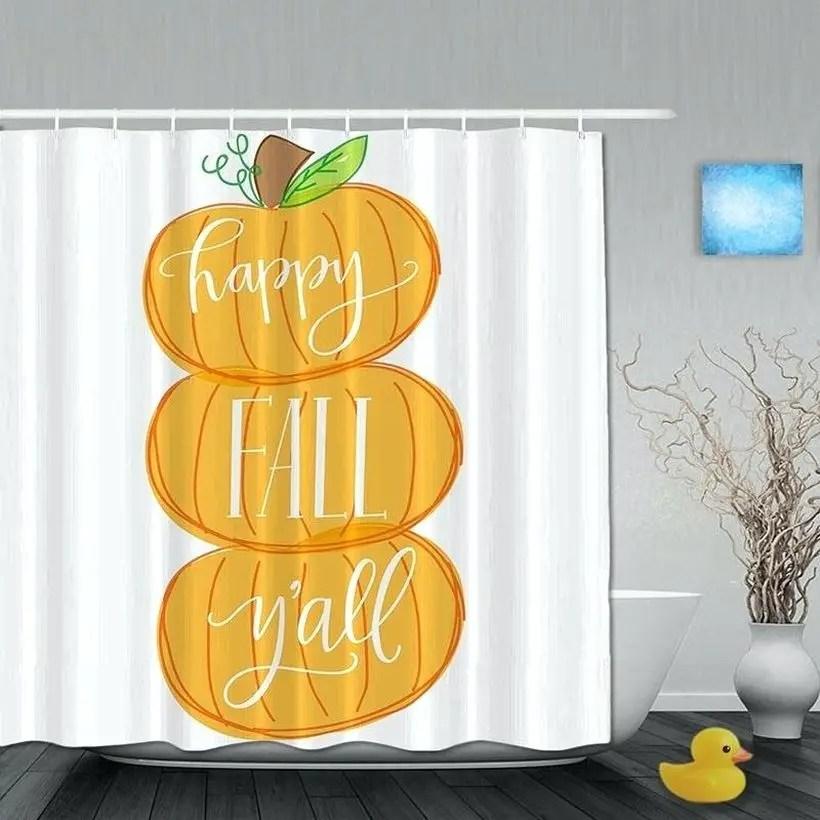 Extraordinary curtains pumpkin