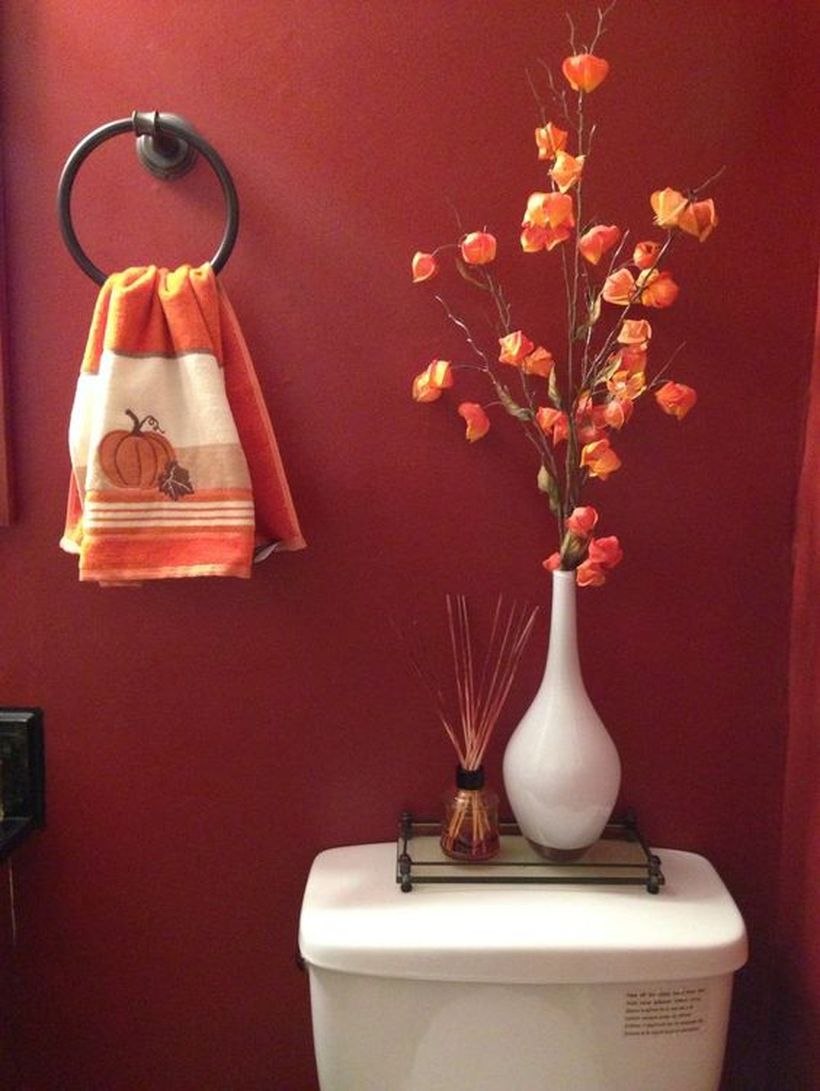 Pumpkin picture towel