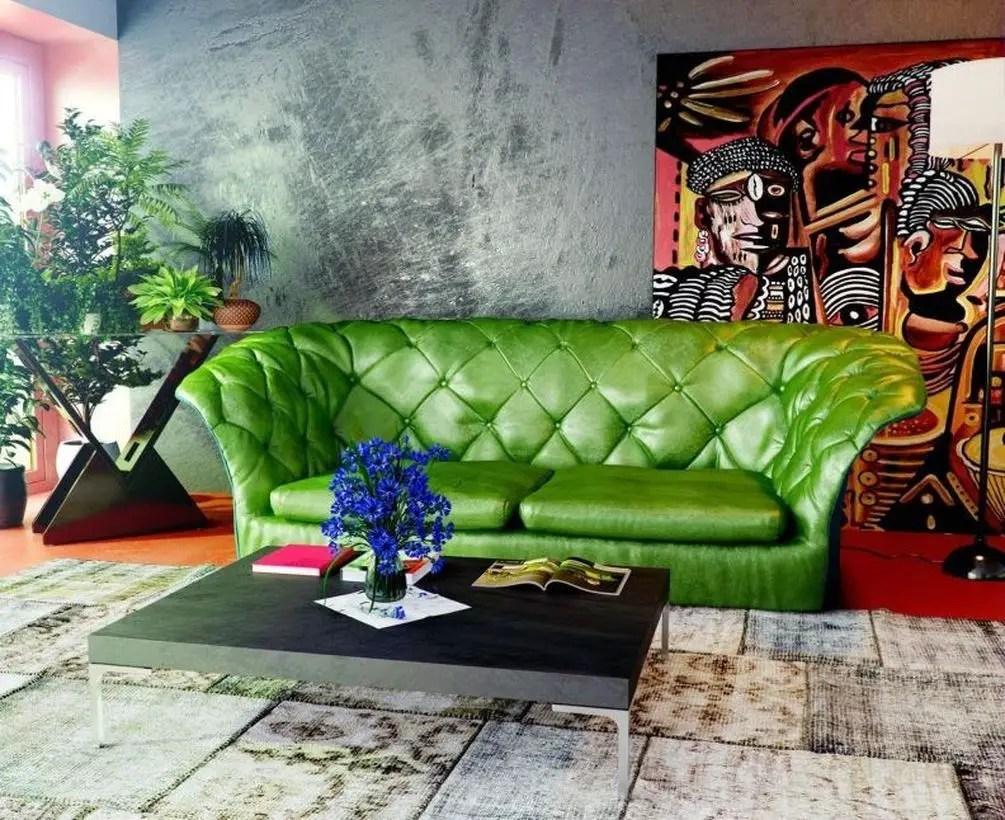 Creative vintage sofa