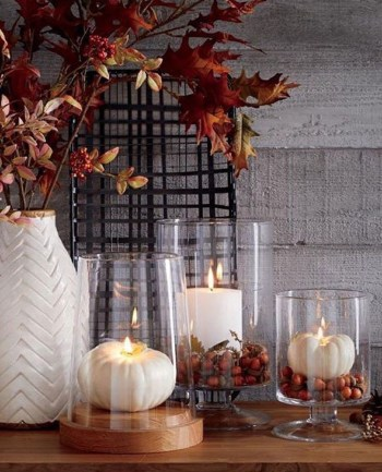 Candle pattern pumpkin