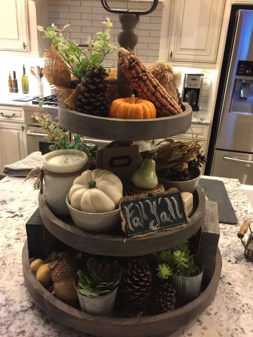 Pumpkins for centerpiece decorate