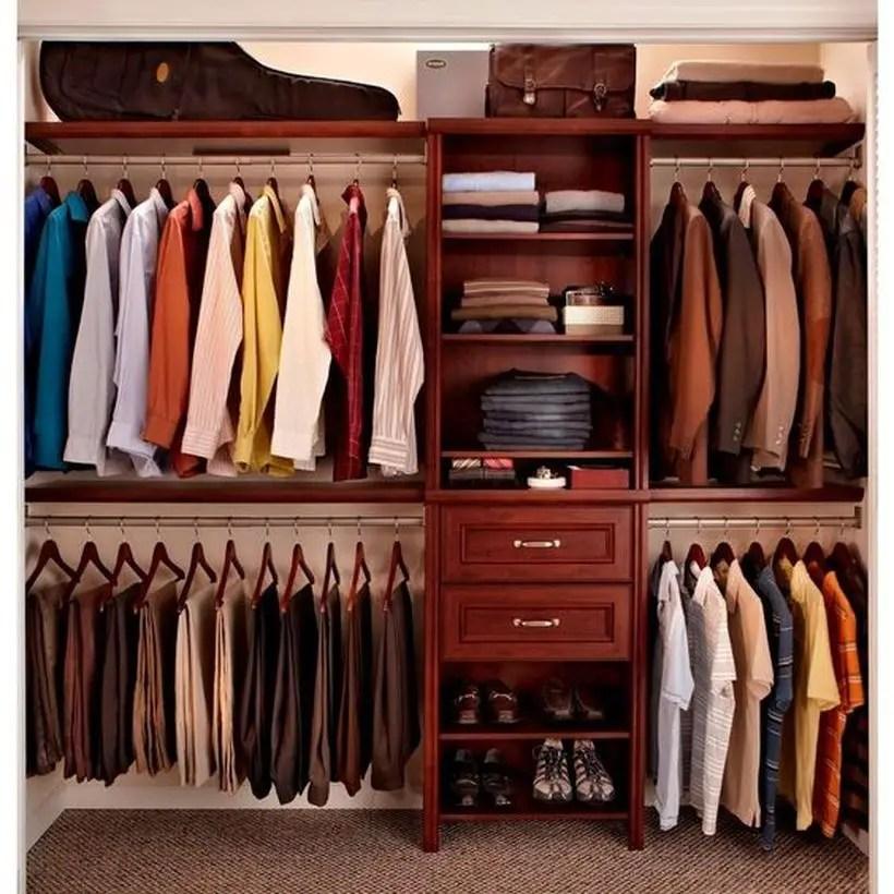 A wonderful inner door wardrobe.