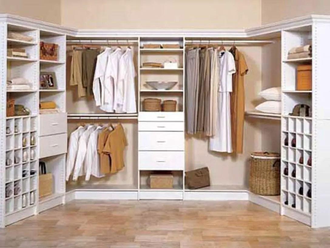 An adorable reach-in wardrobe.