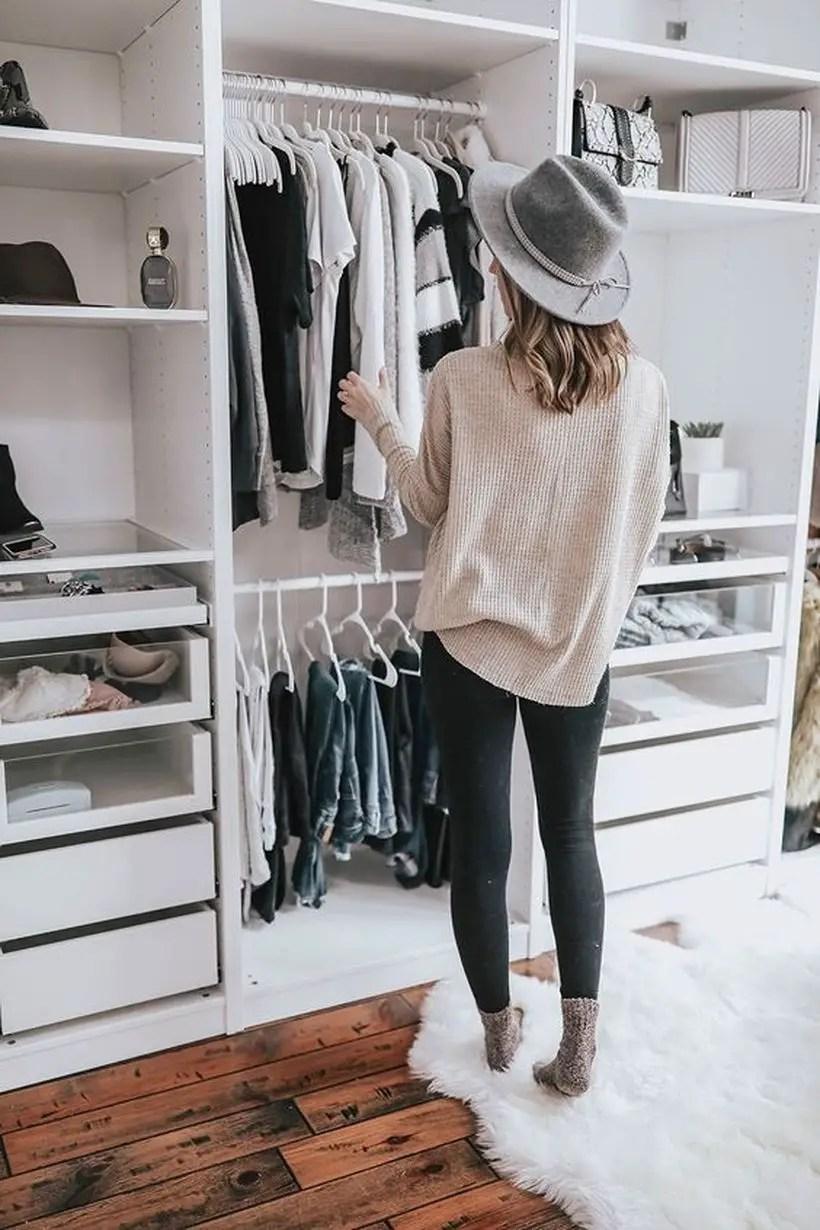 An elegant toscan wardrobe.