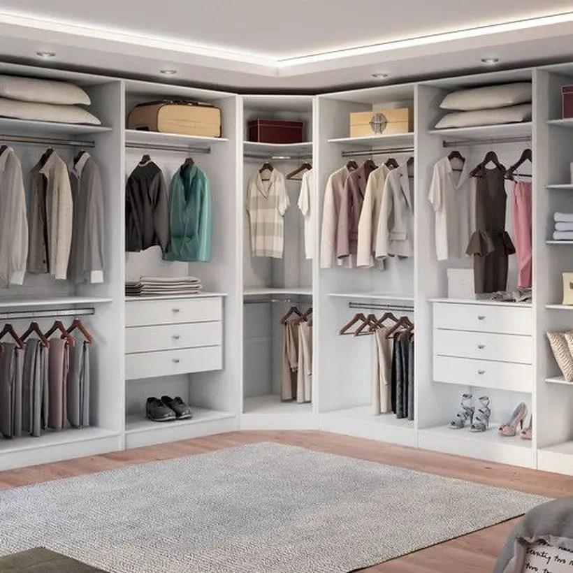 An impressive glamor wardrobe.
