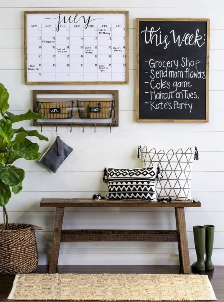 Calender page board for wall decoration