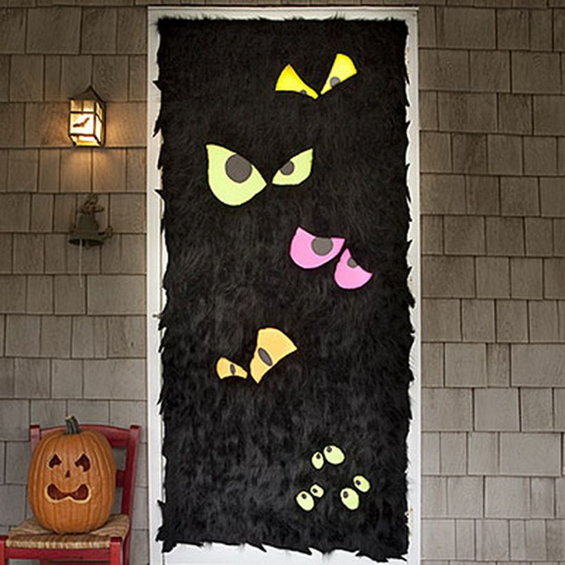 Flurry front door for halloween.
