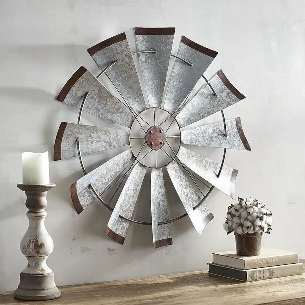Iron wall decoration