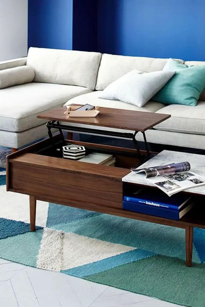 Mid century pop up coffee table.