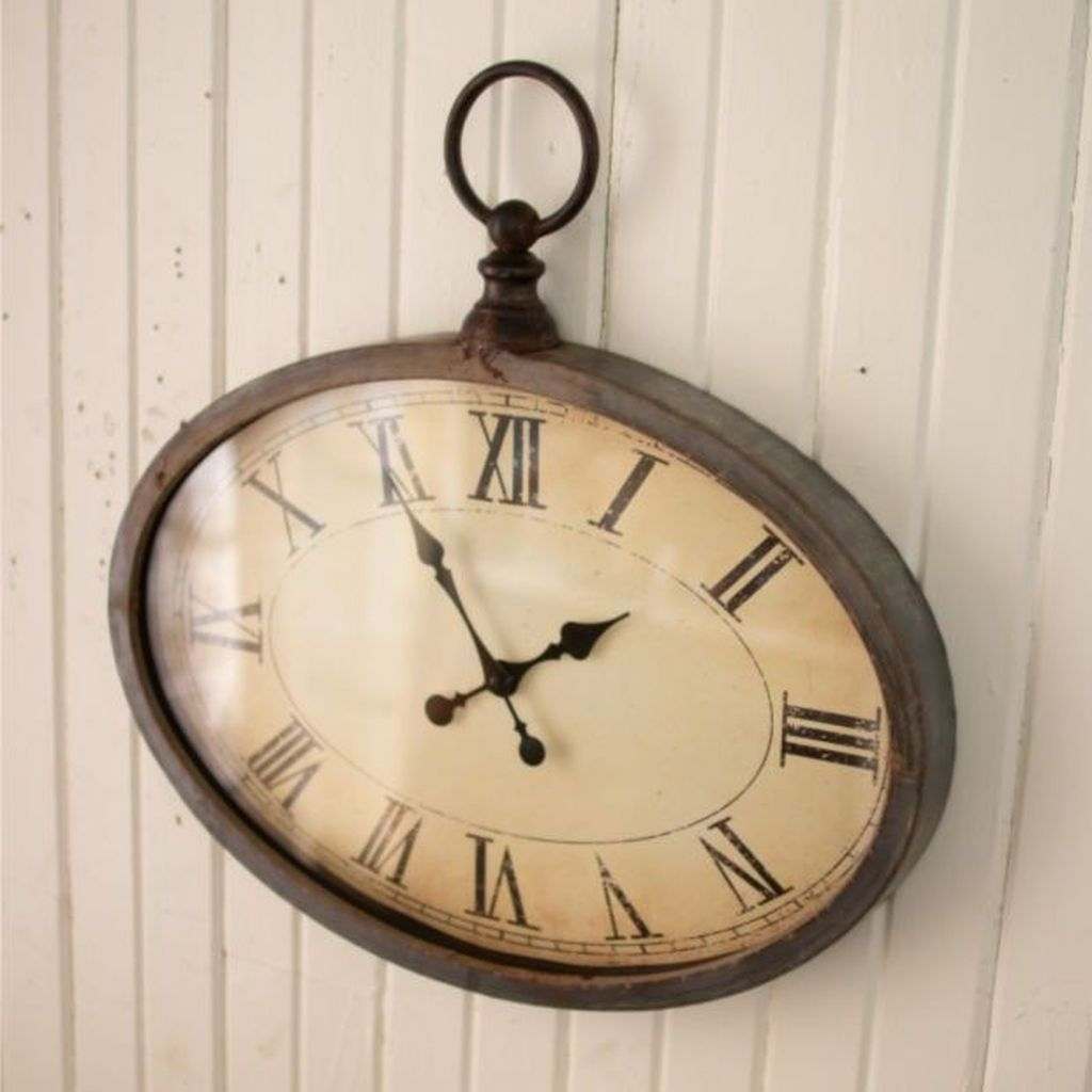 Old clock for wall decoration