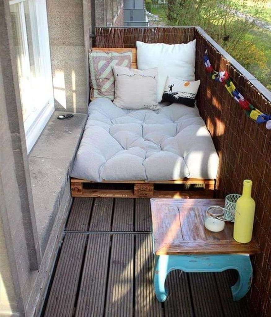 Small bed for small balcony