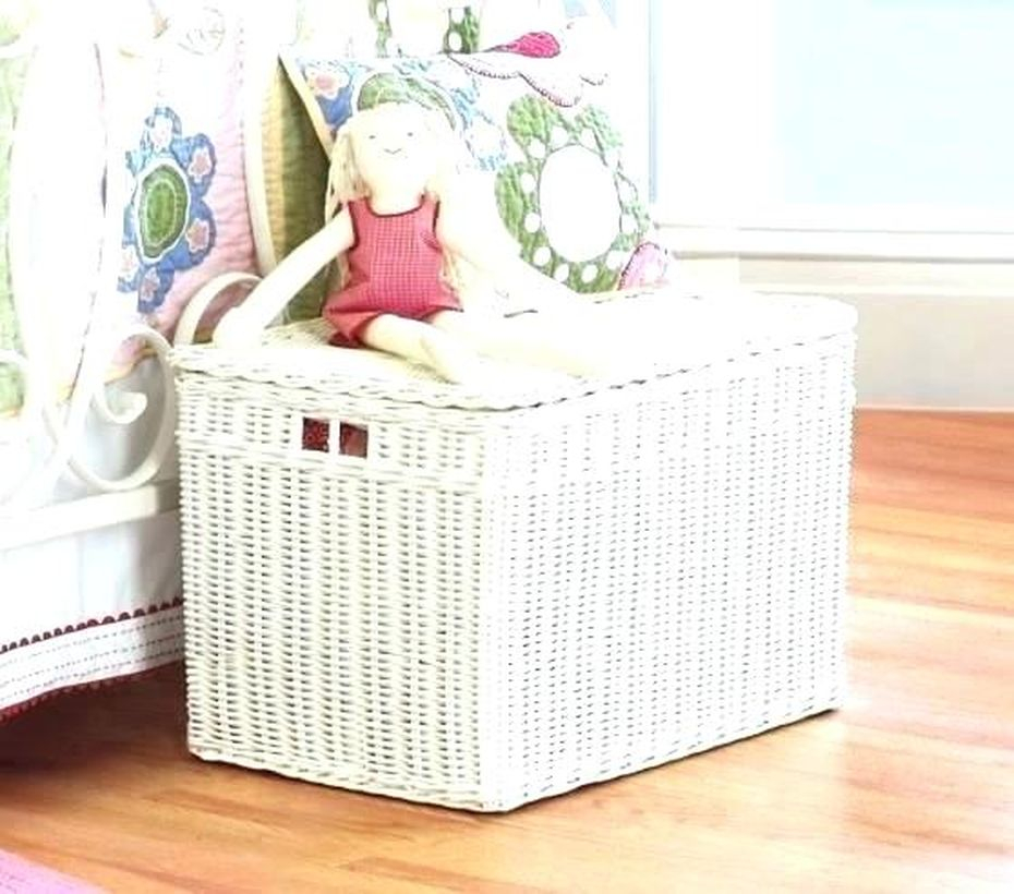 Square storage ideas with white color to save doll toy